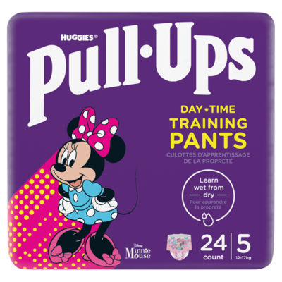 Huggies Pull-Ups Explorers, Girl, Size 1.5-3 Years Nappy Size 4-5+