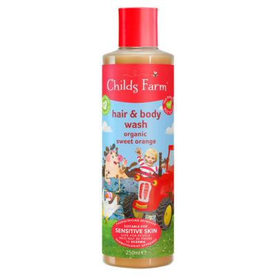 Childs Farm Hair & Body Wash Organic Sweet Orange
