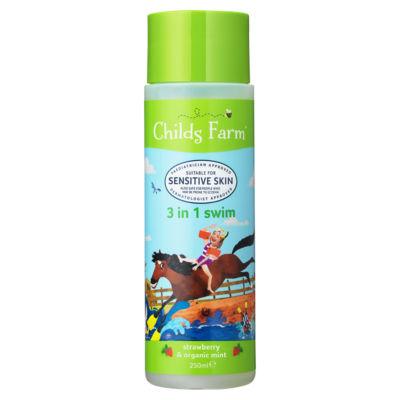 Childs Farm 3 in 1 Swim & Bath Strawberry & Organic Mint