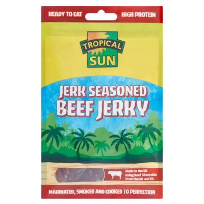 Tropical Sun Jerk Seasoned Beef Jerky