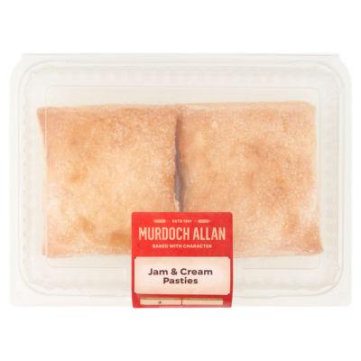 Murdoch Allan Jam & Cream Pasties