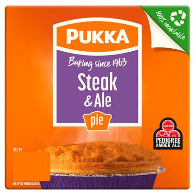 Pukka Steak & Ale Pie