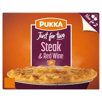 Pukka Steak & Red Wine Pie