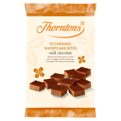 Thorntons Milk Chocolate Caramel Shortcake Bites