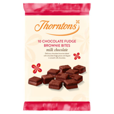 Thorntons Milk Chocolate Fudge Brownie Bites