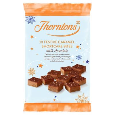 Thorntons Milk Chocolate Festive Caramel Shortcake Bites