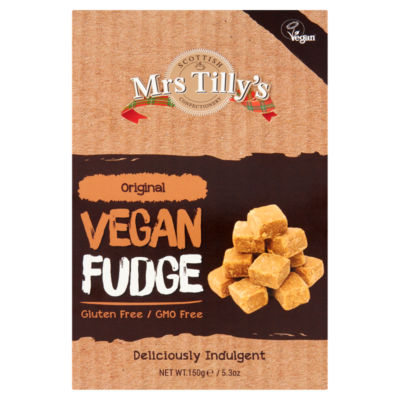 Mrs Tilly's Original Vegan Fudge