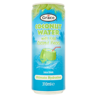 Grace Coconut Water with Real Coconut Pieces