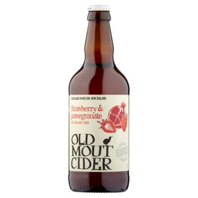 Old Mout Cider Premium Strawberry & Pomegranate Cider Bottle