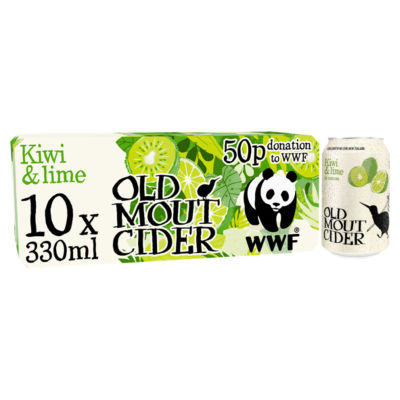 Old Mout Cider Kiwi & Lime Cider Cans