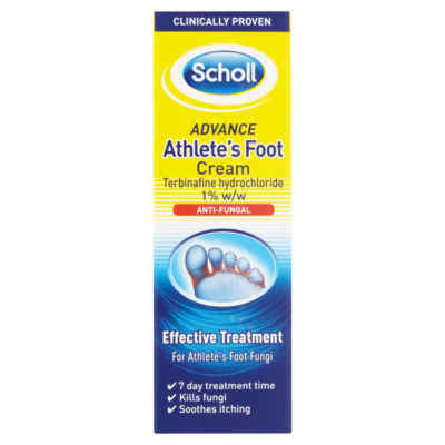 Scholl Advance Athlete's Foot Cream Anti-Fungal