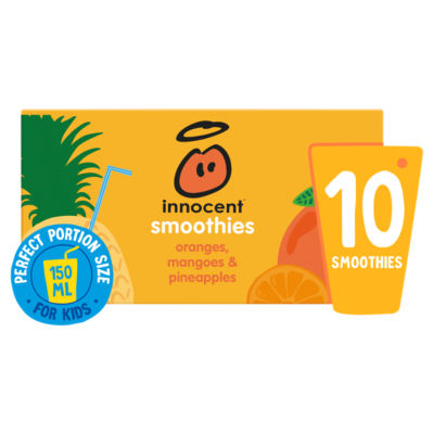 Innocent Smoothies Just for Kids Oranges, Mangoes & Pineapples