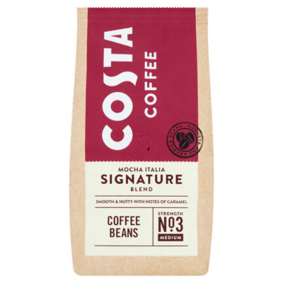 Costa Coffee Mocha Italia Signature Blend Coffee Beans