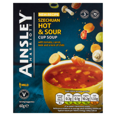 Ainsley Harriott Szechuan Hot & Sour Cup Soup