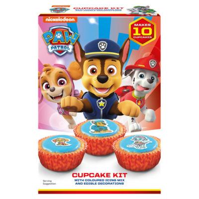 Nickelodeon Paw Patrol Cupcake Kit