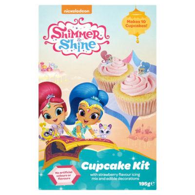 Nickelodeon Shimmer & Shine Cupcake Kit