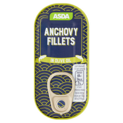 ASDA Anchovy Fillets in Olive Oil