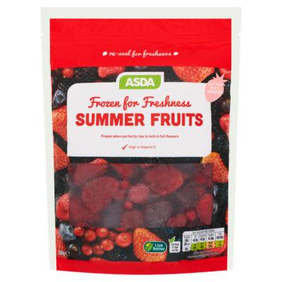 ASDA Frozen for Freshness Summer Fruits