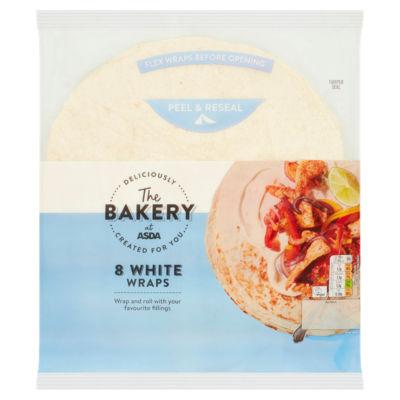 ASDA White Wraps