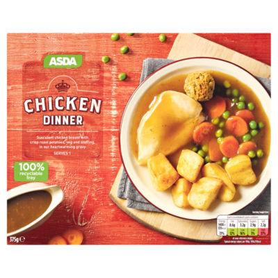 ASDA Roast Chicken Dinner