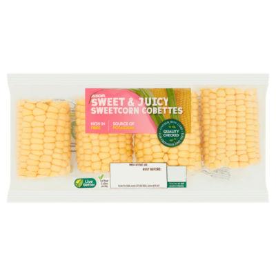 ASDA Grower's Selection Sweetcorn Cobettes