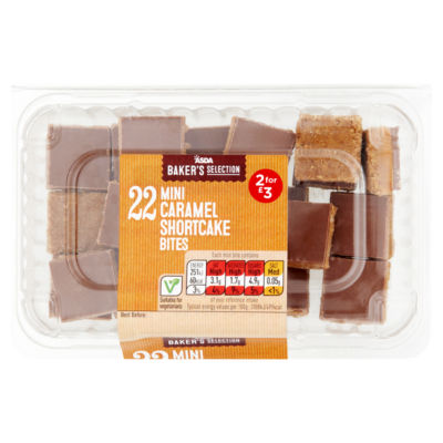 ASDA Baker's Selection Mini Caramel Shortcake Bites