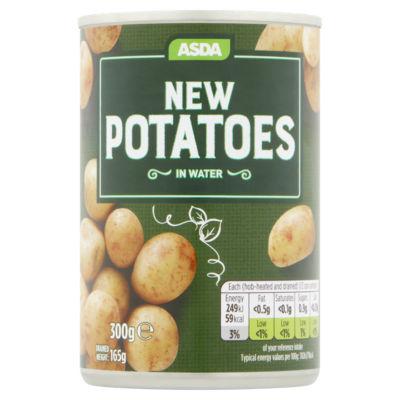 ASDA New Potatoes in Water