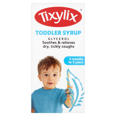 Tixylix Toddler Syrup 3 Months to 5 Years