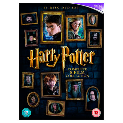 DVD Harry Potter: Complete 8 Film Collection
