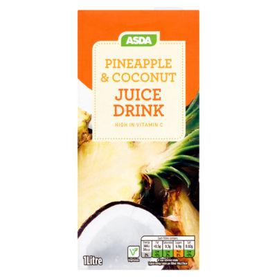 ASDA Pineapple & Coconut Juice Drink