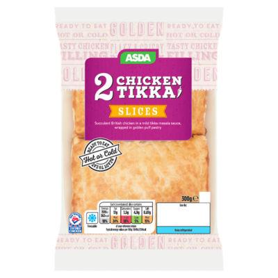 ASDA 2 Chicken Tikka Slices