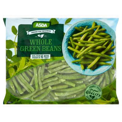 ASDA Frozen for Freshness Whole Green Beans