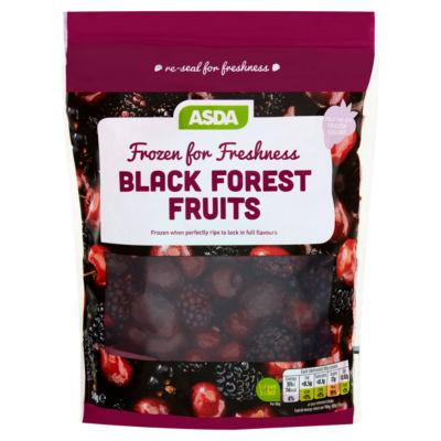 ASDA Frozen for Freshness Black Forest Fruits