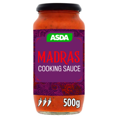 ASDA Madras Curry Sauce