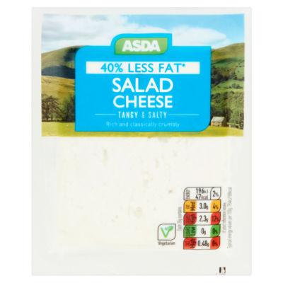 ASDA 40% Less Fat Salad Cheese