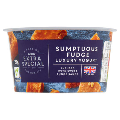 ASDA Extra Special Fudge Yogurt