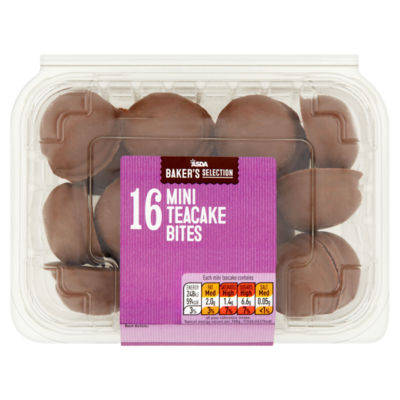 ASDA Baker's Selection Mini Teacake Bites