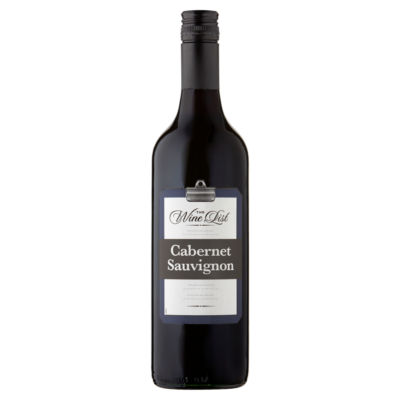 The Wine List Cabernet Sauvignon