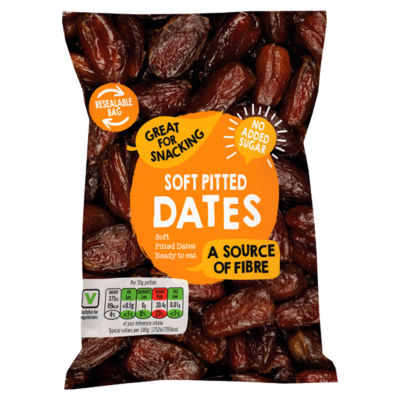 Soft Pitted Dates