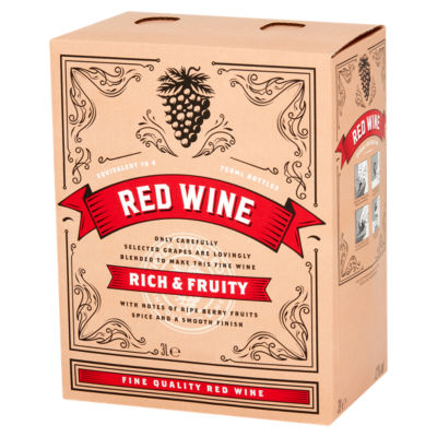 Boxed Red Wine