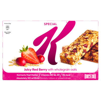 Kellogg's Special K Bar Juicy Red Berry