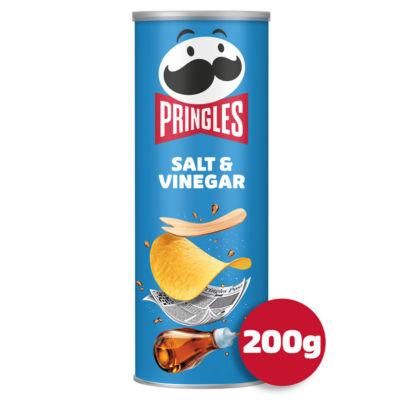 Pringles Salt & Vinegar Sharing Crisps