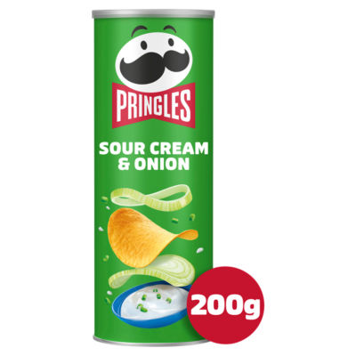 Pringles Sour Cream & Onion Sharing Crisps