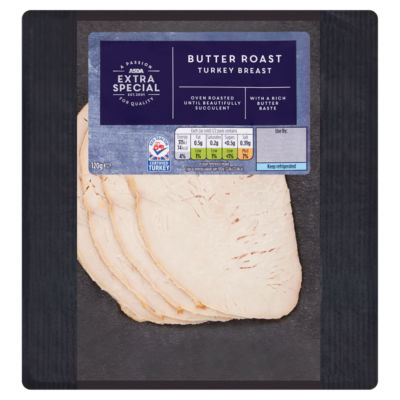 ASDA Extra Special Butter Roast Turkey Breast Slices