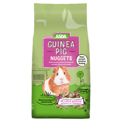 ASDA Guinea Pig Nuggets