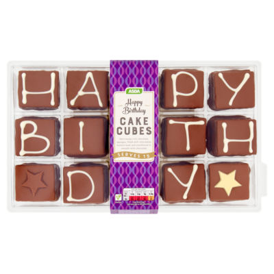 ASDA Happy Birthday Cake Cubes