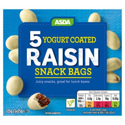 ASDA Yogurt Coated Raisins