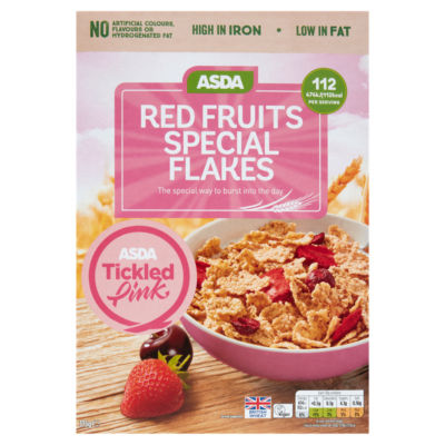 ASDA Red Fruits Special Flakes Cereal