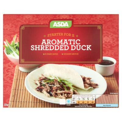 ASDA Crispy Aromatic Shredded Duck