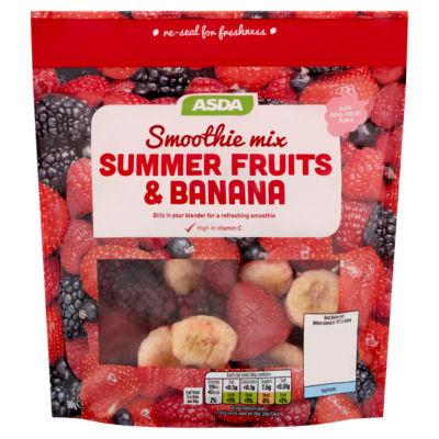 ASDA Summer Fruits & Banana Smoothie Mix
